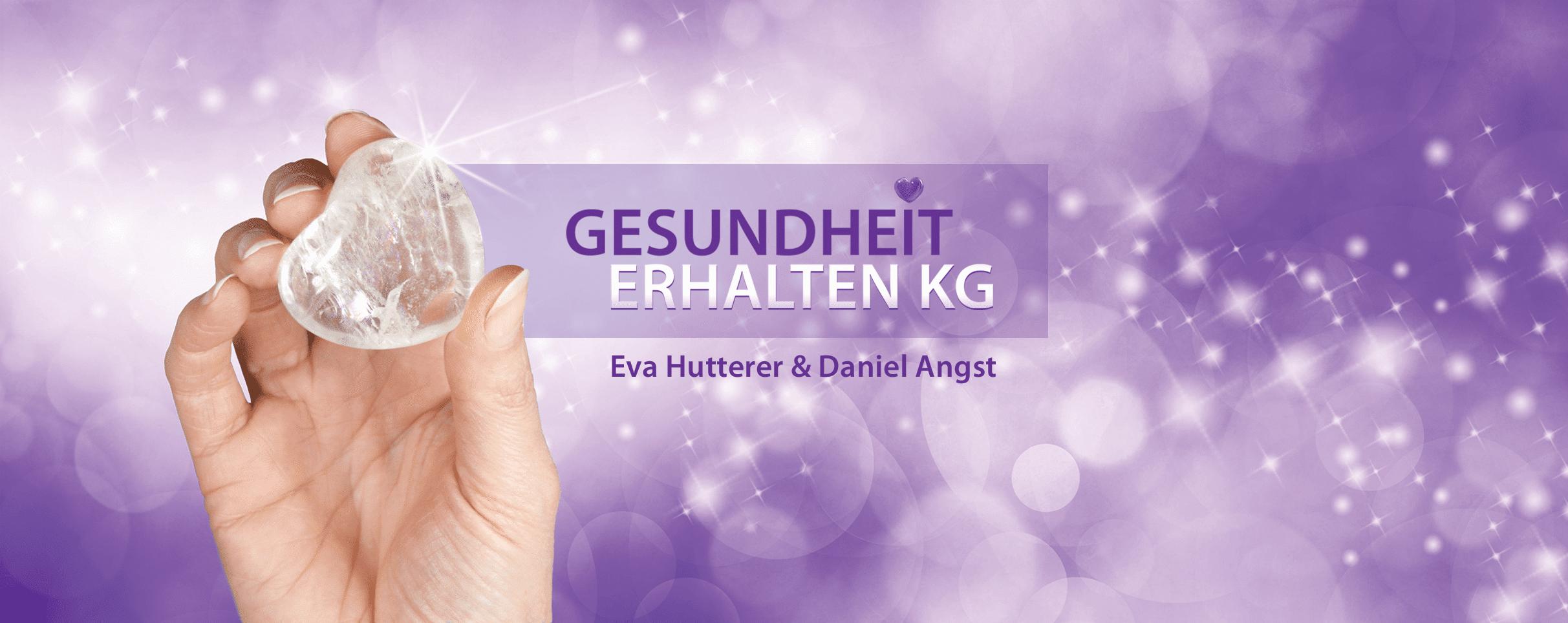 Gesundheit erhalten KG Eva Hutterer und Daniel Angst Header
