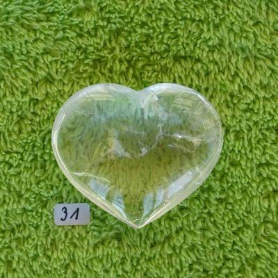 Bergkristall-Herzen mit aktivierter KRISTALL-LICHT-ENERGIE