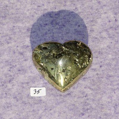 Pyrit-Herz Nr. 35