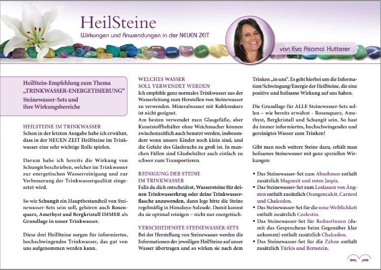 MYSTIKUM 10/17: HeilSteine – Wirkungen und Anwendungen in der NEUEN ZEIT