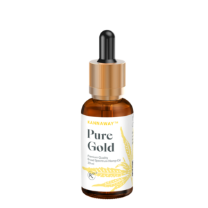 PURE GOLD 500mg - 30ml, Fa. Kannaway