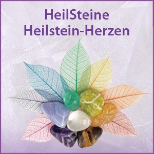 HeilSteine & aktivierte HeilStein-HERZEN